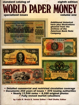 Standard Catalog of World Paper Money, Specialised Issues, Volume one, Eighth Edition)}}
